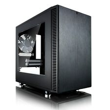 Fractal Design Define Nano S ITX ASTUCCIO PER GAMING - Nero USB 3.0