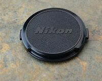 Genuine Nikon NIKKOR 52mm Clip-on Front Lens Cap Japan Snap-on (#1473)