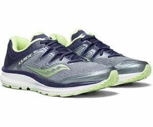 Saucony Guide ISO Women's Running Shoe Fog/Purple/Mint, Size 5 W