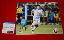 NICOLAS LODEIRO seattle sounders FC uruguay world cup signed PSA/DNA 8X10 3