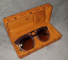 Original MCM Sonnenbrille Sunglasses mit MCM Brillen Etui Brille Box Italien TOP