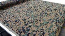 "WOODLANDS MARPAT DIGITAL NY/CO TWILL USMC CAMOUFLAGE 60""W APPAREL FABRIC BTY"