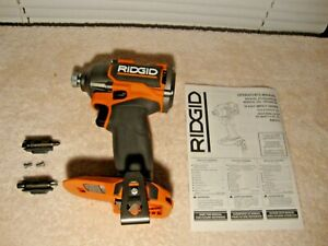 New Ridgid MAX OUTPUT R862311 18 Volt Compact Impact Driver  1 Day Ship