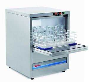 Brand New Teikos Glass washer 30 Pint Glass Capacity - 500 x 500 mm Baskets