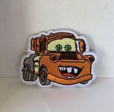 Disney cars mater brodé Appliques Patch A Coudre ou Fer sur personnage #482