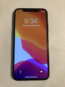 Apple iPhone X - 64GB - Space Gray A1865 T-mobile Sprint Smartphone - Read