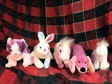 Webkinz Sparkle Lot Pom Kitty Bunny Pony Dachshund Unicorn Stuffed Animals Toys