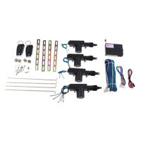 Car Central Lock System Keyless Entry with 4 Power Door Lock Actuator Kit