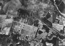1944 Aerial Photo Auschwitz - Birkenau PHOTO Nazi German Concentration Camp
