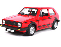 Bburago 1:24 VOLKSWAGEN Golf MK1 GTI 1979 Red Diecast Model Car Toy New In Box