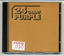 Deep Purple CD 24 Carat Purple - early press West Germany CD-FA 3132 EMI Fame