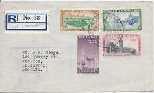 NEW ZEALAND REGISTERED F.D.C.23/8/48;CENTENARY OF OTAGO;SG692-95.