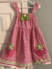 Nannette Kids Girls Strawberry Dress - Size 5 - NWOT