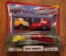 Mattel Cars Race O Rama Movie Moments Luigi & Ferrari F430-NEW
