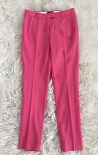 JCrew $128 Maddie pants in bistretch wool 0 Sorbet Pink b0783 NEW