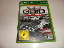 XBox 360  Race Driver GRID - Reloaded [Classics]