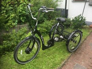 Troy Easy Rider, E-Bike, Elektro Dreirad, Schwarz