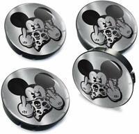 60mm / 55mm Universal Nabenkappen Felgendeckel Nabendeckel Mickey Mouse Maus