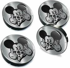 4 x 60mm Universal Nabenkappen Felgendeckel Nabendeckel Mickey Mouse Micky Maus
