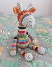 Ct15 - Crochet Pattern - Cute Cotton Children's Toy Giraffe - Keepsake Gift Baby