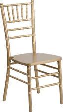 Flash Furniture Flash Elegance Gold Wood Chiavari Chair XS-GOLD-GG Chair NEW