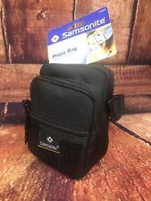 Samsonite Photo Black Bag Ultra Protective PS20 Digital or Traditional w Strap