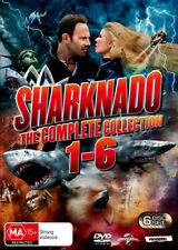 PREORDER - Sharknado: The Complete Collection 1-6 (Sharkn . - DVD - NEW Region 4