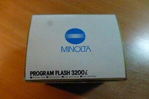 MINOLTA PROGRAM 3200i Boxed FLASH IN MINT CONDITION