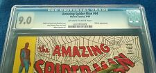 Amazing Spider-man # 64 CGC 9.0 OW/W pages VF/NM