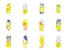 Set Of 12 Different Designs Pokemon Bookmark (12 Pcs)