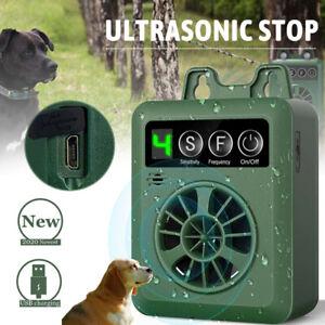 Anti-Dog Barking Device, Ultrasonic Bark Deterrent, Outdoor 50' Silencer 2H