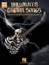 Halloween Guitar Songs: 43 Gravest Hits Deranged for 6-String Axe in Scary Notat