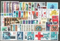 DDR Jahrgang 1972 , postfrisch , Auswahl aus Michel Nr. 1731 - 1814