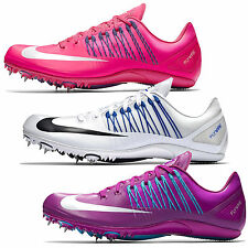New Nike Zoom Celar 5 V Track & Field Spikes Sprint Shoes, Pink White Purple