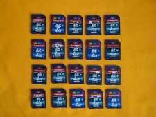 LOT 20 Transcend  4gb SD Cards Class 6, Used