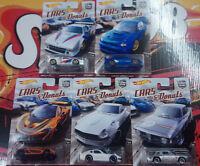 Hot Wheels Cars & Donuts  Choise/Choix lot ou à l'unitè ( N17)