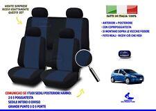Coprisedili Grande Punto Fiat fodere sedile su misura set blu sedili auto per