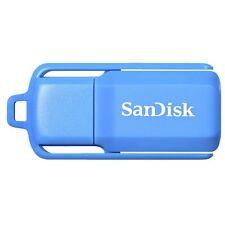 Sandisk 8GB Cruzer Switch USB 2.0 Flash Drive Memory stick Blue SDCZ52N-008G