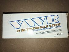 Nib<>Avon<>Vw r<Volkswagen Rabbit<>Sure Winner Bracing lotion<3 fl oz