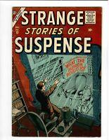🚚 Strange Stories of Suspense No.12 Early Atlas Silver-Age 10c Horror 1956  VG