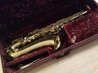 Vintage Tenor Saxophone Holton 1953 Collegiate. Classic/Jazz Sax Model #576