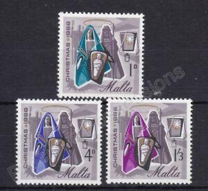 MALTA MNH STAMP SET 1966 CHRISTMAS SG 373-376