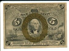 FR1233 5c US Fractional Currency
