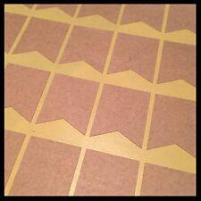 Blank Kraft Sticker Flag Tag | BL202