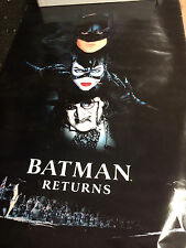 Batman Returns 1992 DC Comics Batman Catwoman Penguin vintage wallposter PBX3103