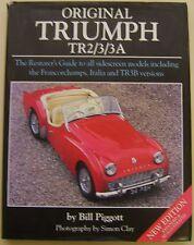 Original Triumph TR2/3/3A restauradores guía Inc. hecho Italia TR3B Firmado