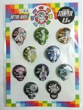 One Piece STAMPEDE Can Badge Button x10 Luffy Zoro Sanji Nami Usopp Robin Brook