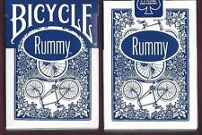 1 DECK Bicycle Rummy Ohio-made blue seal playing cards