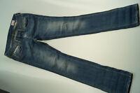 HERRLICHER Damen Jeans Hose stretch skinny slim used 27/32 W27 L32 blau TOP #50