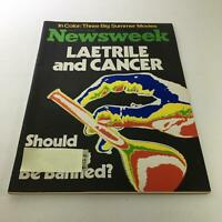 Newsweek Magazine: June 27 1977 - Laetrile and Cancer + Three Big Summer Movies